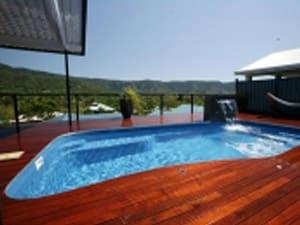 Newmarket Pool Wood Deck