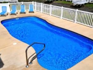 fiberglass pool